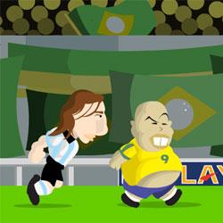 Run Ronaldo Run - Флеш игры